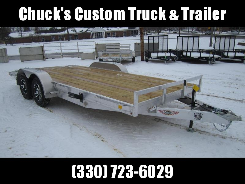 2019 H and H Trailer 82X162' ALUMINUM CAR HAULER Car / Racing Trailer