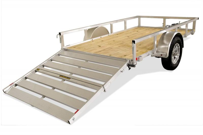 2019 H and H Trailer 82X14 TUBE TOP 3K Trailer