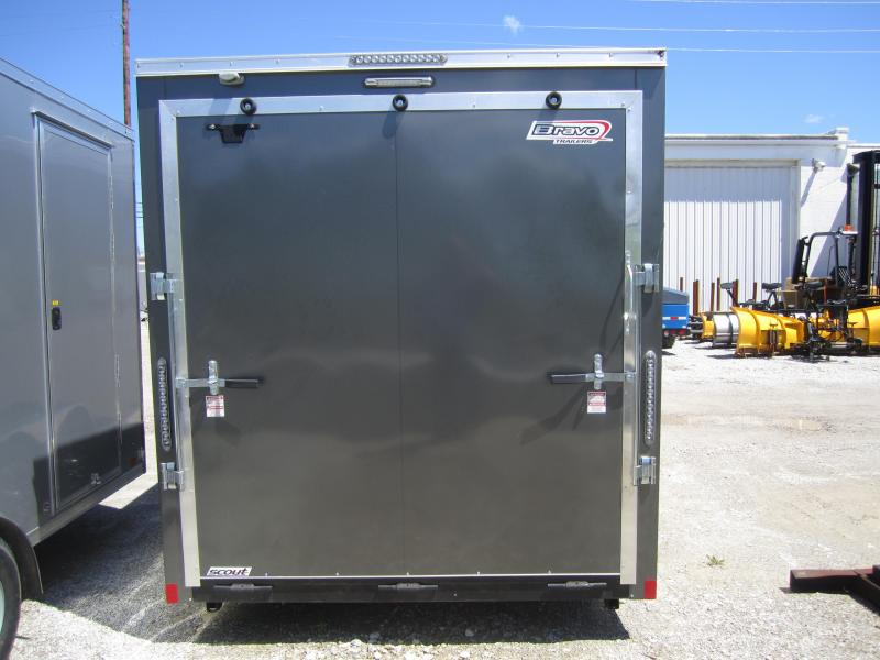 2018 Bravo Trailers USED 7X14 V NOSE Enclosed Cargo Trailer