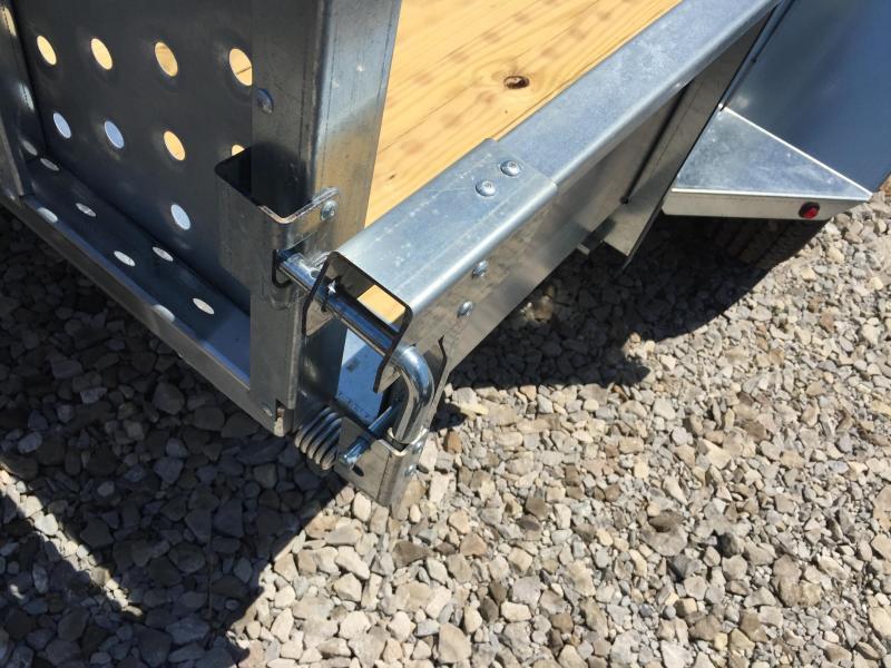 2018 Sure-Trac 5 x 10 Galvanized High Side 3k Idler