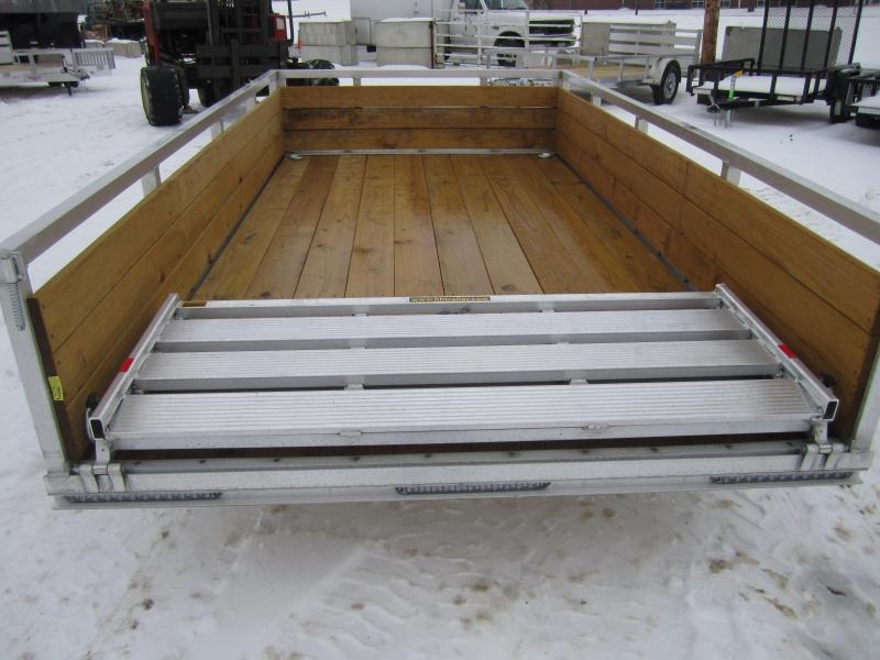 2019 H and H Trailer 76X12 HIGH SIDE ALUM 3K Utility Trailer