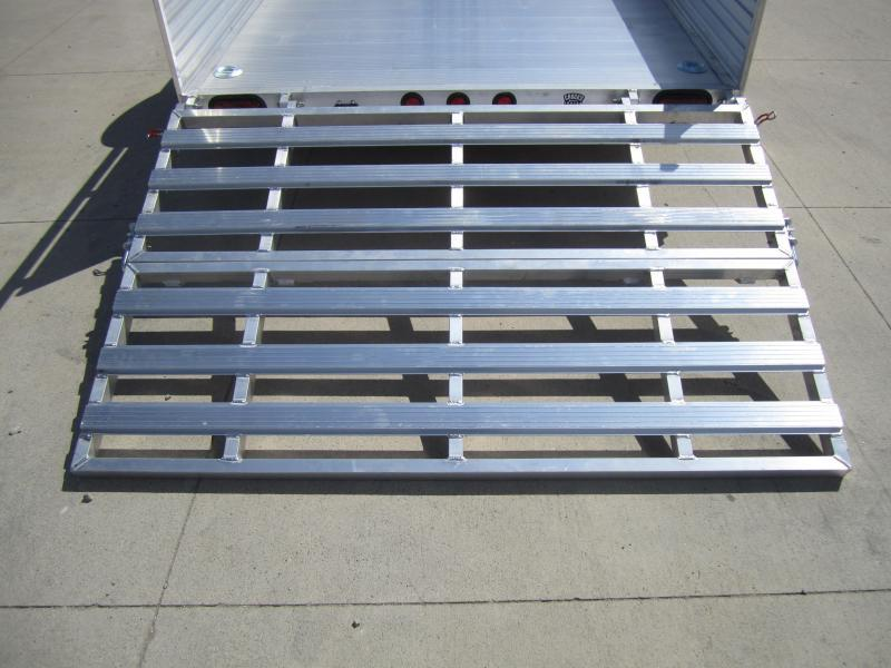 "2020 Primo 6'X10' ALL ALUMINUM 16"" HIGH SIDES Utility Trailer"