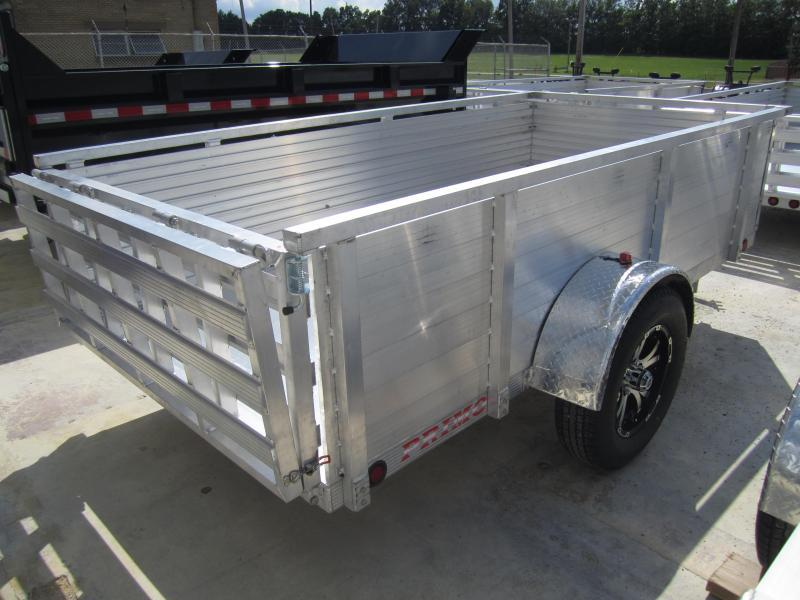 "2020 Primo 5'X10' ALL ALUMINUM 30"" HIGH SIDE Utility Trailer"