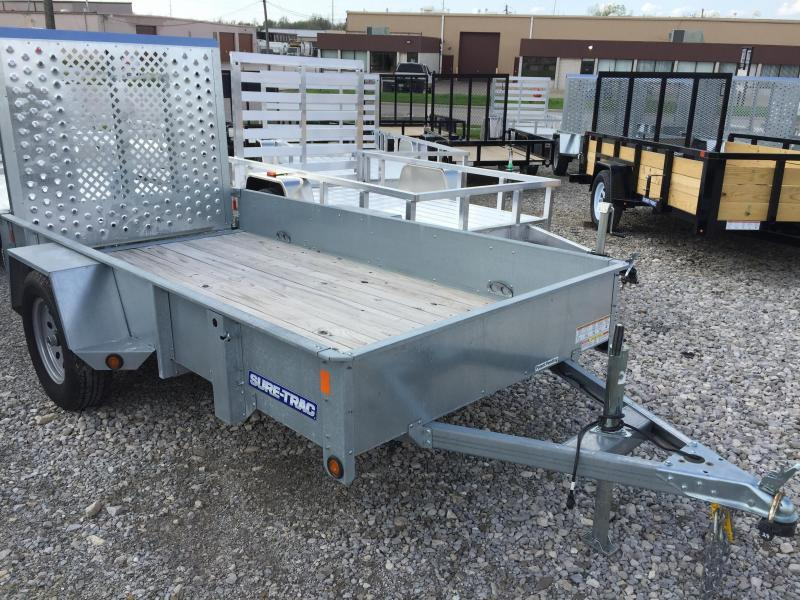 2017 **used** Sure-Trac 5 x 10 Galvanized High Side 3k Idler