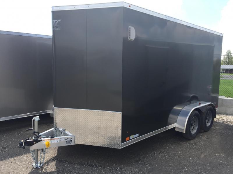 2018 Aluminum Trailer Company 7X14 ATC RAMP DOOR Enclosed Cargo Trailer