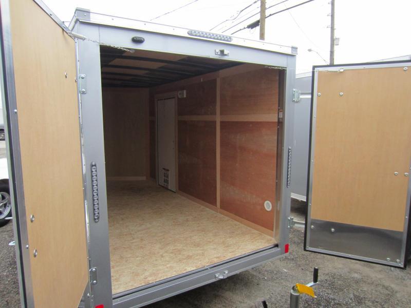 2019 Bravo Trailers 6X12 HERO SWING DOORS Enclosed Cargo Trailer