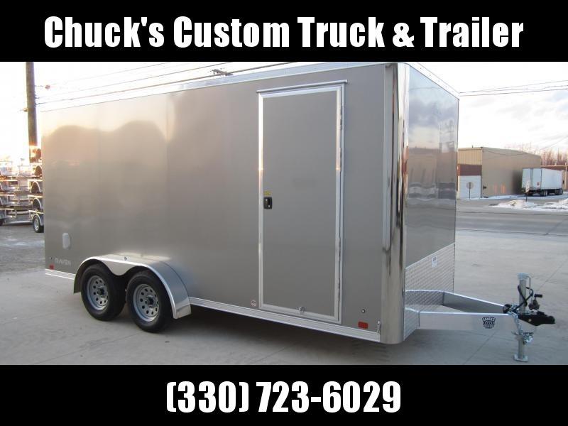 Aluminum Trailer Company 7X16 ALUMINUM RAMP DOOR Enclosed Cargo Trailer