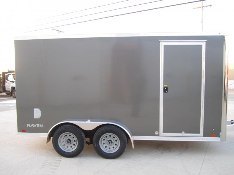 2019 Aluminum Trailer Company 7X14 ATC RAMP DOOR Enclosed Cargo Trailer