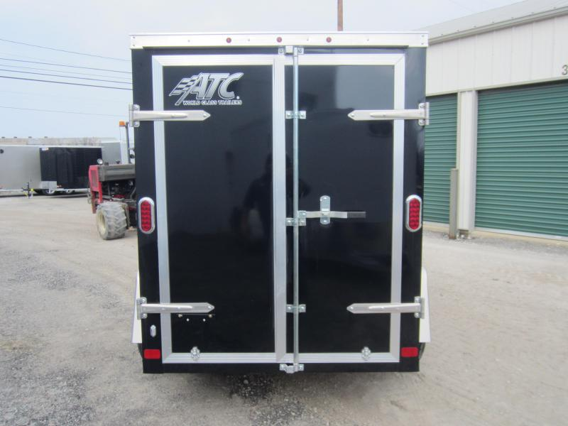 2018 Aluminum Trailer Company RAVEN 5X8 SWING DOORS Enclosed Cargo Trailer
