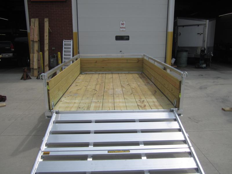 2019 H and H Trailer 8.5(82)X12 WOOD-SIDE ALUM 3K