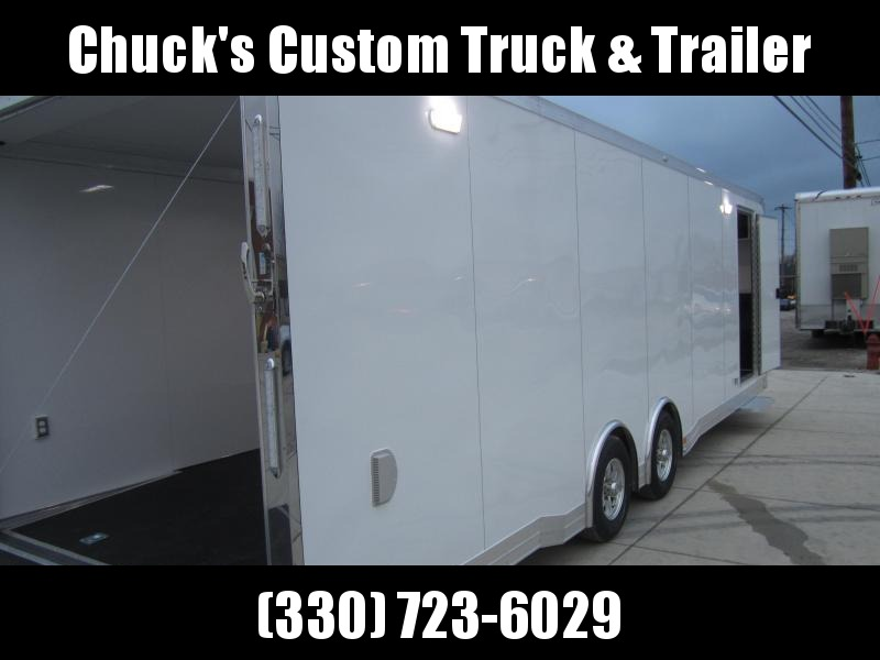 2019 ATC 8.5X28 ATC ALUMINUM QUEST CAR HAULER CH305 Enclosed Cargo Trailer