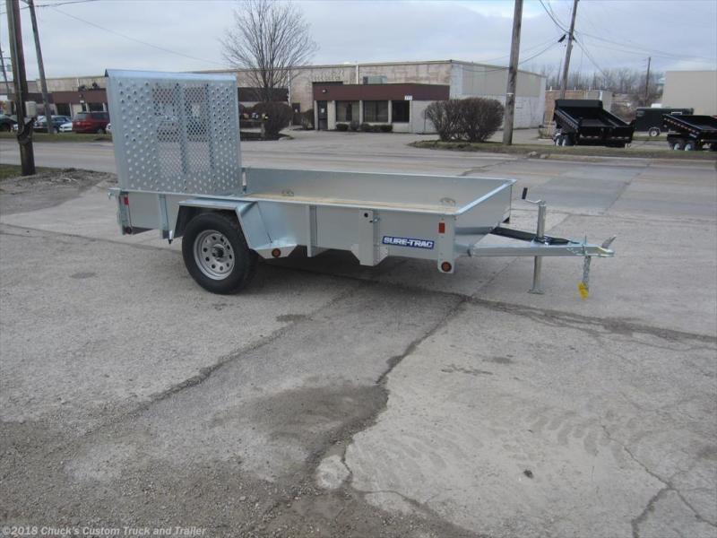 2018 Sure-Trac 6 X 10 Galvanized Utility Trailer