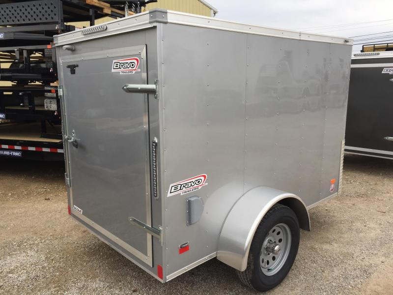 2018 Bravo Trailers 5X8  BARN DOOR Enclosed Cargo Trailer