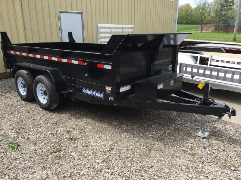 2018 Sure-Trac 72 IN x 12 LProfile 10K Single Ram Dump