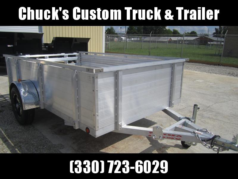 """2020 Primo 6'X10' ALL ALUMINUM 30"""" HIGH SIDES Utility Trailer"""