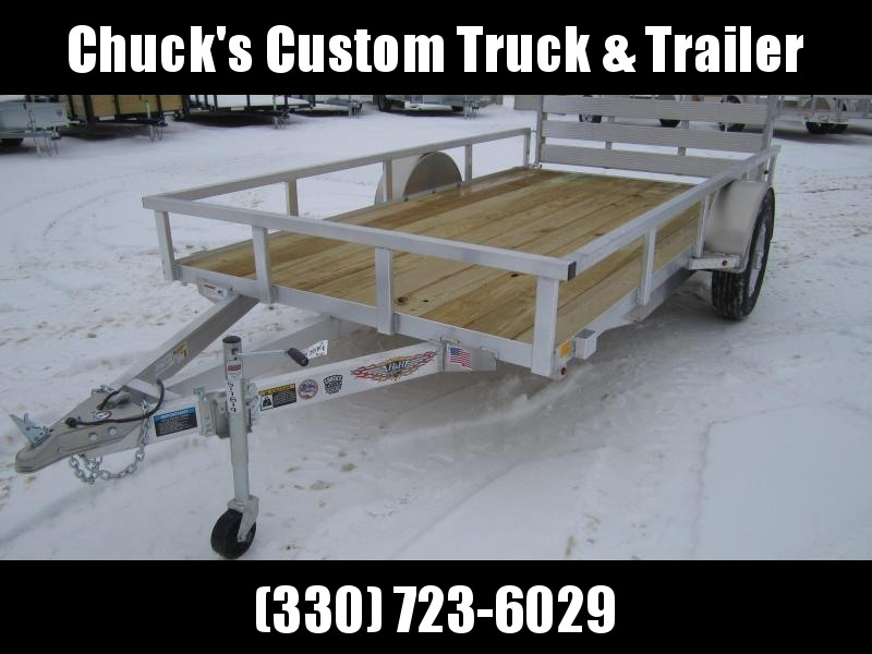 2019 H and H Trailer 76X12 TUBE TOP Utility Trailer