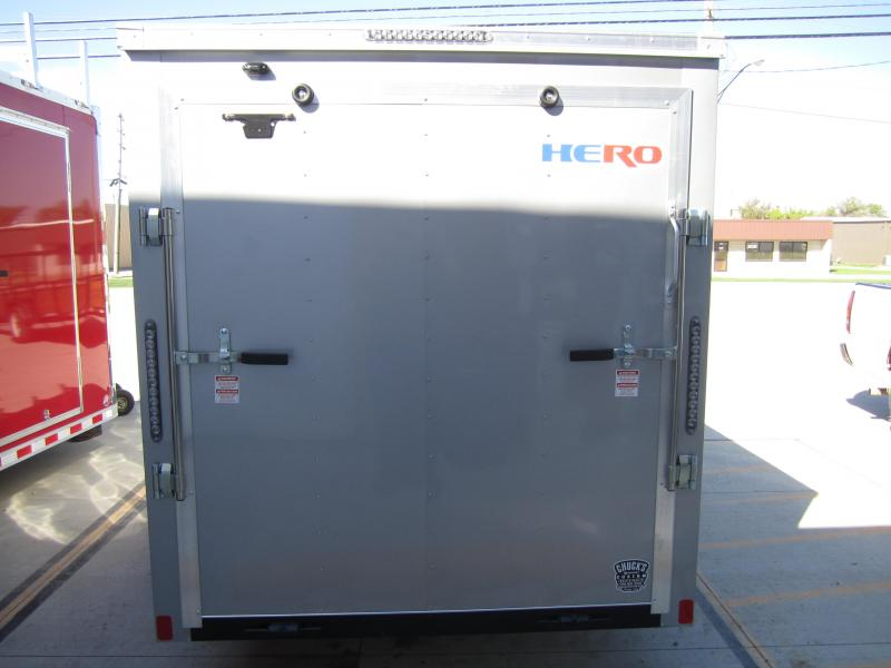 2019 Bravo Trailers 6X12 HERO RAMP DOOR Enclosed Cargo Trailer