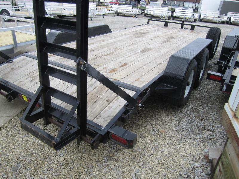 2016 Sure-Trac 7X16 IMPLEMENT TRAILER USED 2016 Equipment Trailer