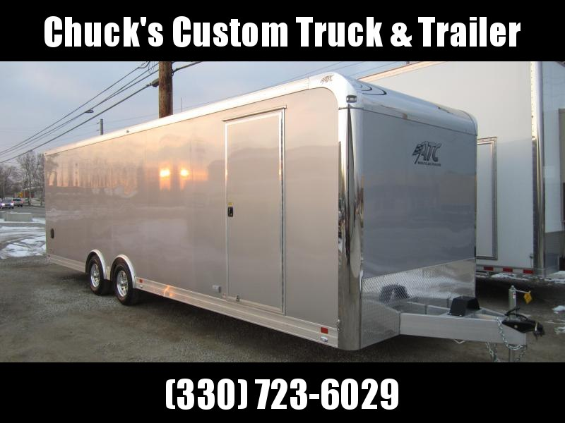 2019 ATC 8.5X28 ATC ALUMINUM QUEST CAR HAULER CH205 Enclosed Cargo Trailer