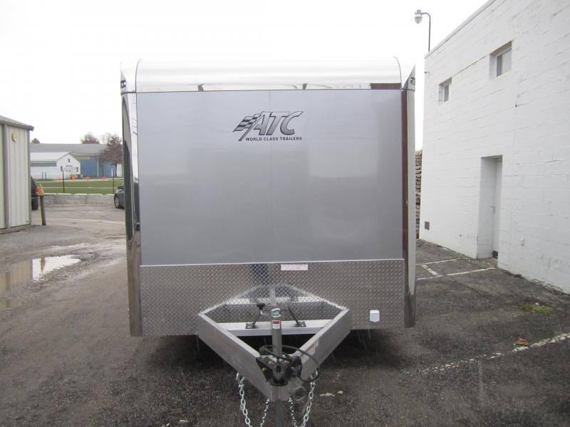 2019 ATC 8.5X24 ALUMINUM QUEST CAR HAULER CH305 Enclosed Cargo Trailer