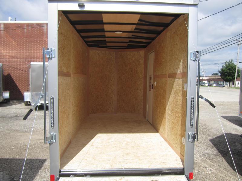 2020 Bravo Trailers 6'X12' SCOUT SILVER 7'RAMP DOOR Enclosed Cargo Trailer
