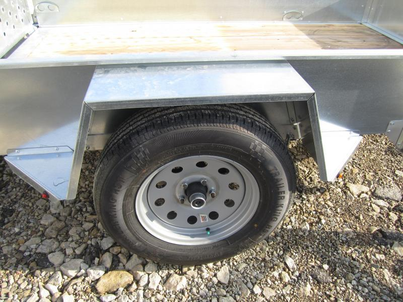 Sure-Trac 5 x 8 Galvanized High Side 3k Idler