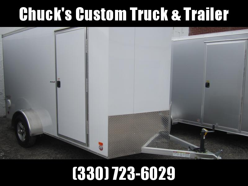 2019 Bravo Trailers 6X12 ALUMINUM SCOUT ENCLOSED TRAILER Enclosed Cargo Trailer