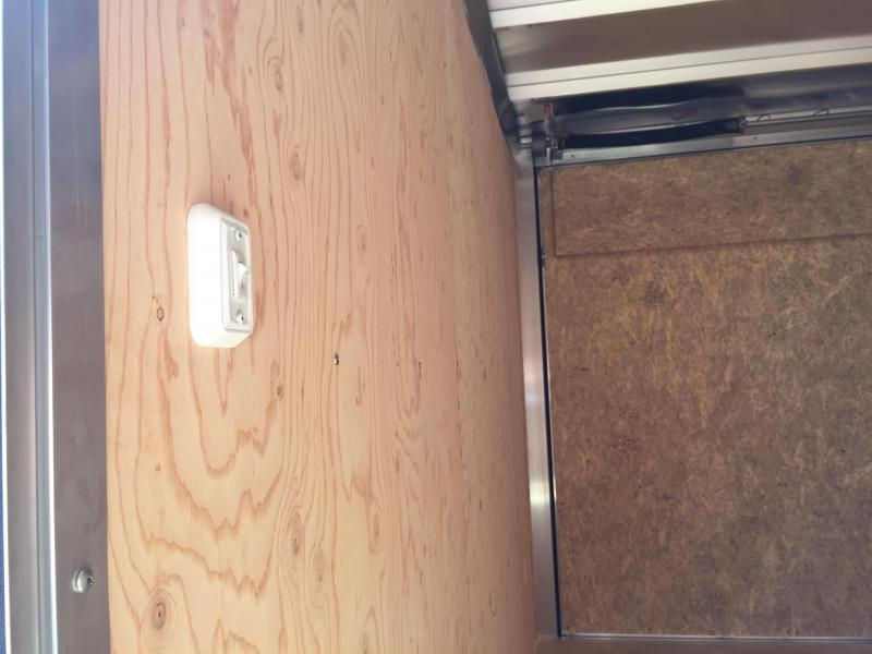 2018 Aluminum Trailer Company 7X16 ATC RAMP DOOR Enclosed Cargo Trailer