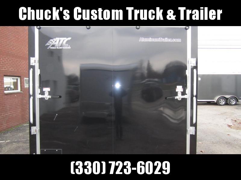 2019 ATC 8.5X24 ALUMINUM CAR HAULER QUEST CH205 Enclosed Cargo Trailer