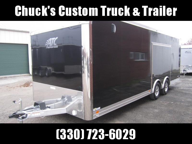 2019 ATC 8.5X24 ALUMINUM CAR HAULER QUEST CH205 Enclosed Cargo Trailer
