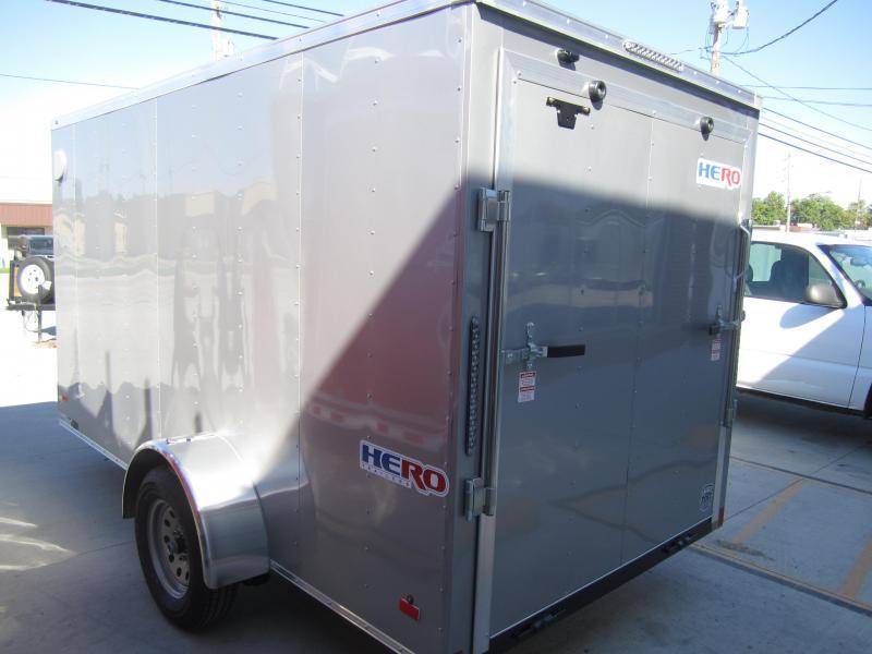 2019 Bravo Trailers 6X12 HERO RAMP DOOR Enclosed Cargo Trailer