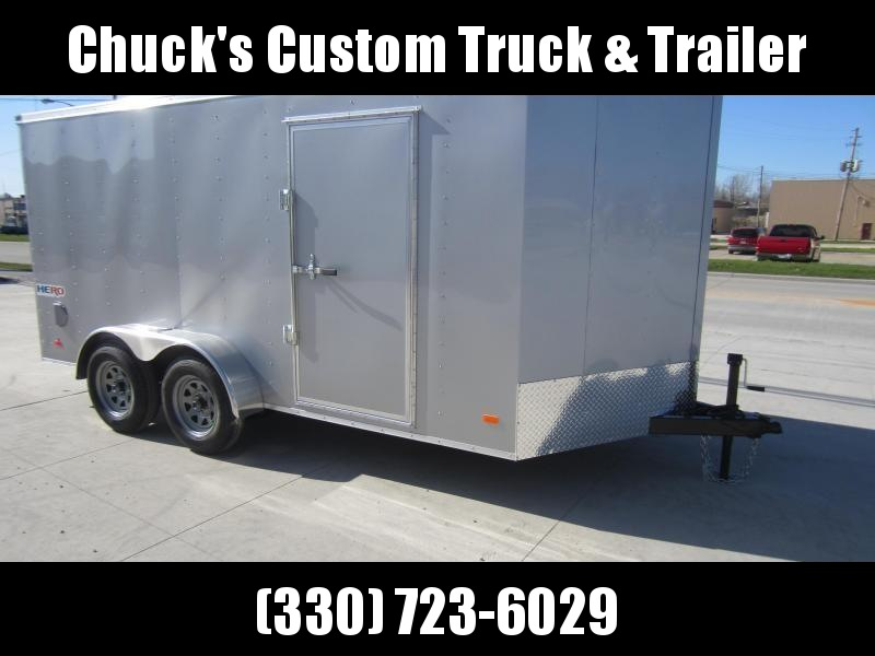 2019 Bravo Trailers 7X14 RAMP DOOR Enclosed Cargo Trailer