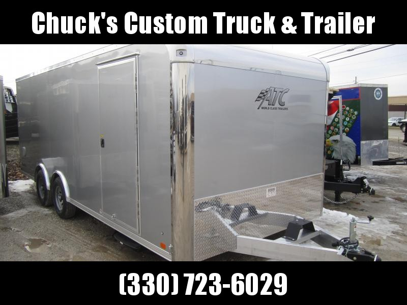 2019 Aluminum Trailer Company 8.5X20 RAVEN CAR HAULER Enclosed Cargo Trailer