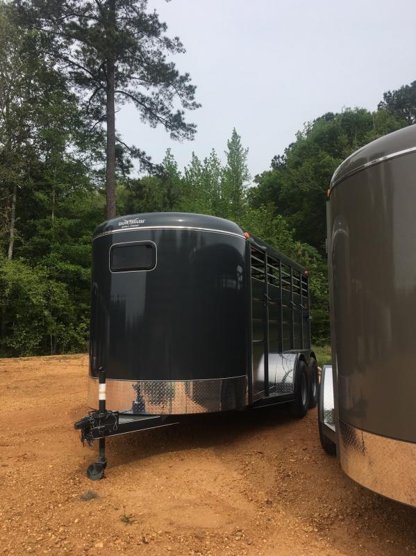 2019 Calico Trailers 6x16 Stock / Stock Combo Trailer in Ashburn, VA
