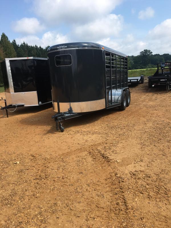 2019 Calico Trailers 6x16 Slate Gray Livestock Trailer