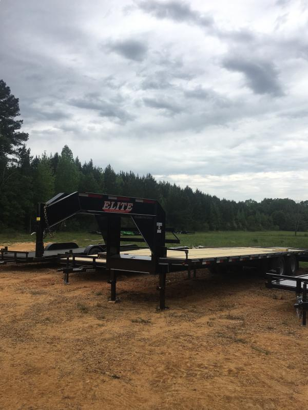 2019 Elite Trailers 102x32 Gooseneck Trailer in Ashburn, VA