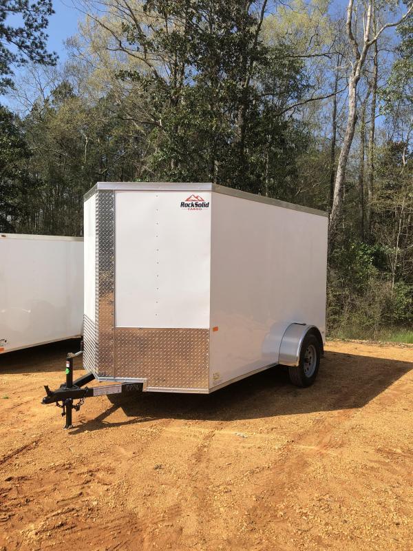 2019 Rock Solid Cargo 6x10 Enclosed Cargo Trailer in Ashburn, VA