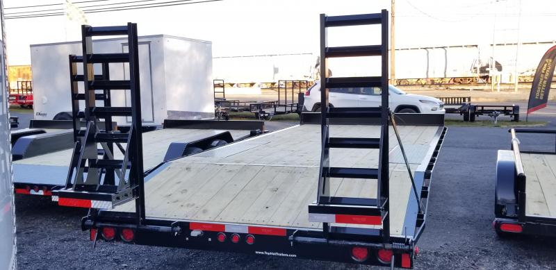 2019 Top Hat Trailers 102 X 20 Deckover Flatbed Trailer