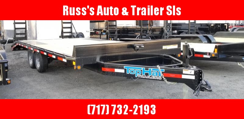 2019 Top Hat Trailers Deckover Flatbed Trailer