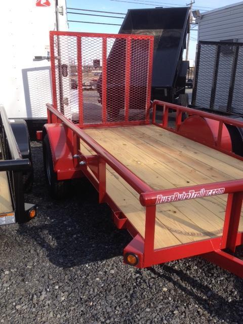 2018 Top Hat 6.5 X 10 DSP Utility Trailer Red