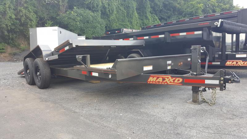 2019 Maxxd G6X 83X20 Equipment Trailer w/Tilt 14k