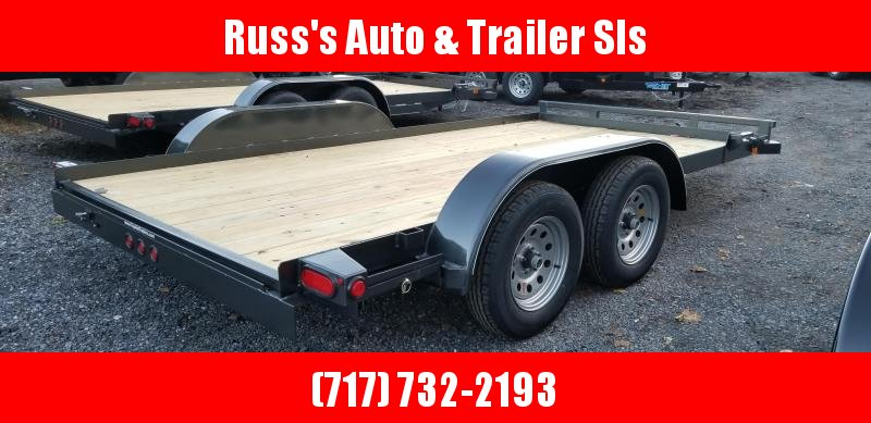 2019 Top Hat Trailers 7x14 Carhauler 7K Slide-In Ramps in Ashburn, VA