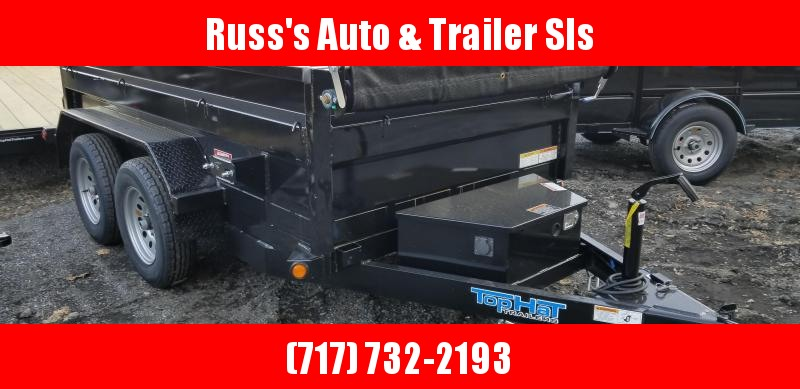 2019 Top Hat Trailers DP70 5X10 Dump Trailer in Ashburn, VA