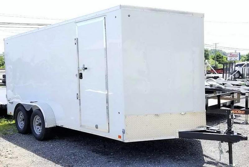 2020 Cargo Express 7X16 EX DLX Enclosed Trailer