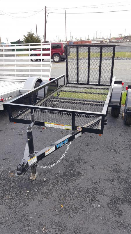 2018 Top Hat Trailers DJ 25 Utility Trailer 4.5 X 9 Mesh Floor