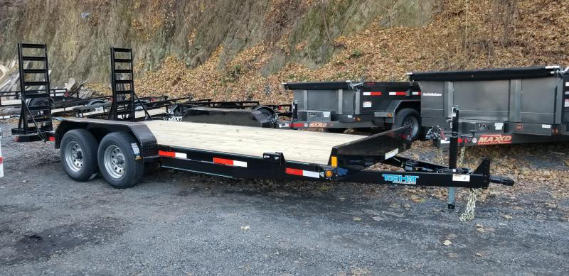 2019 Top Hat Trailers  7X18 Equipment Hauler 10K