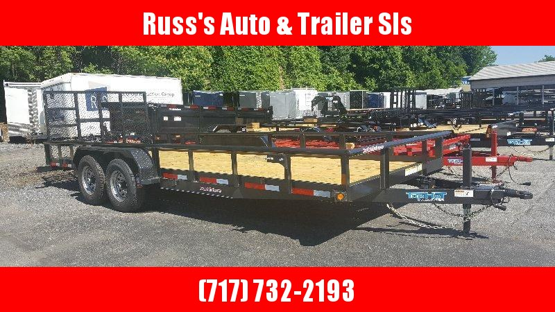 2018 Top Hat 7X20 HP Trailer- 10K