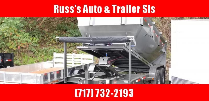 2019 MAXXD 7X14 14k Roll-Off  Dump Trailer W/1 Bin