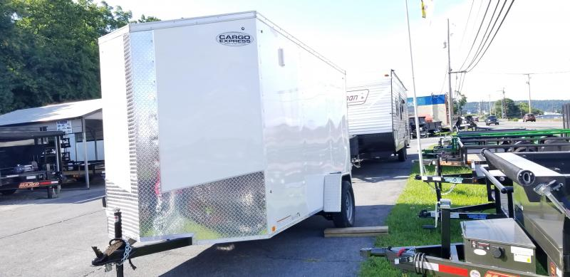 2019 Cargo Express XlW SE 6x12 Enclosed Trailer