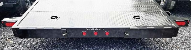 2020 Top Hat 7 X 18  ASCH CarHauler w/Steel Deck 7k